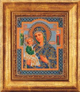 Вышивка бисером икона иерусалимская